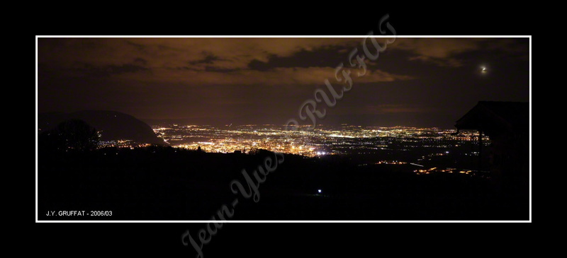 Annemasse depuis Armiaz  - By Night