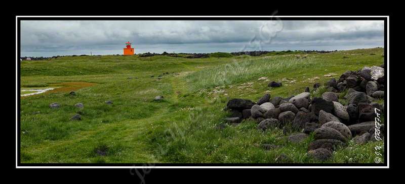 The lighthouse: one of the only traces of civilization at Öndverðarnes